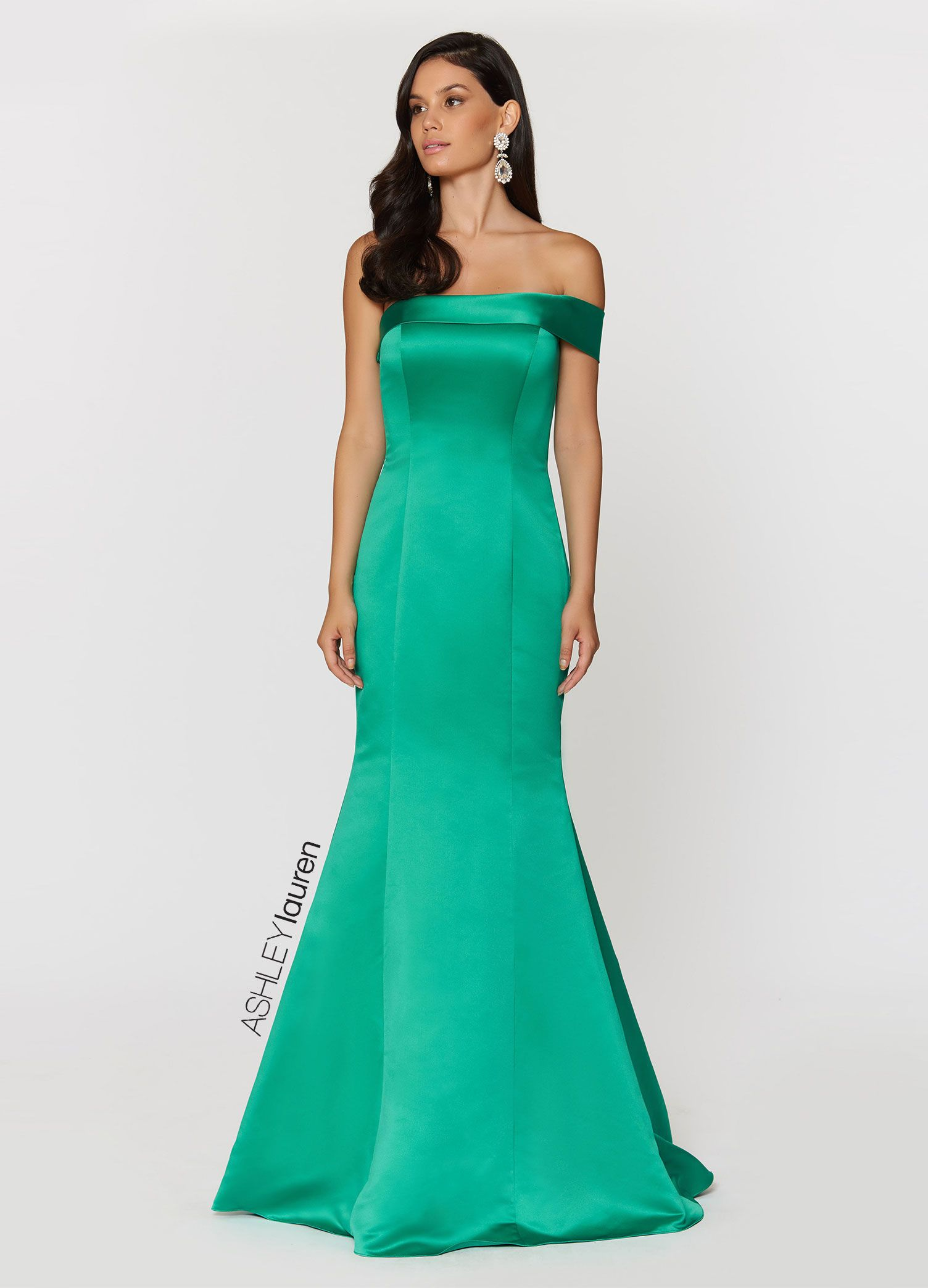 One shoulder elegance at your next red carpet. Style 1204 ...