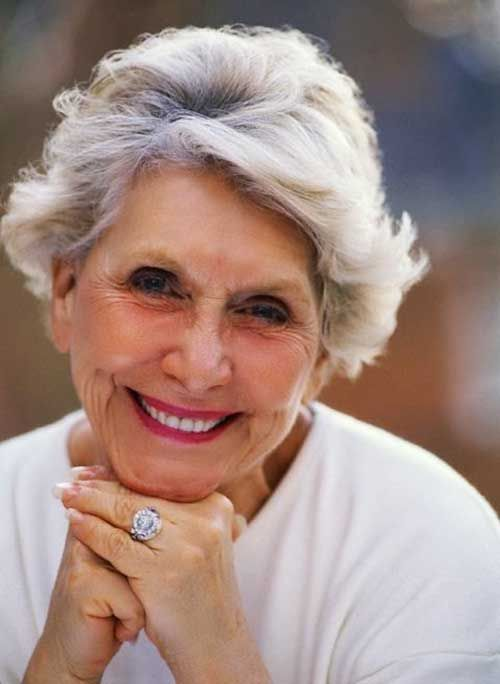 15 Best Short Haircuts For Women Over 70 | Short haircuts ...
