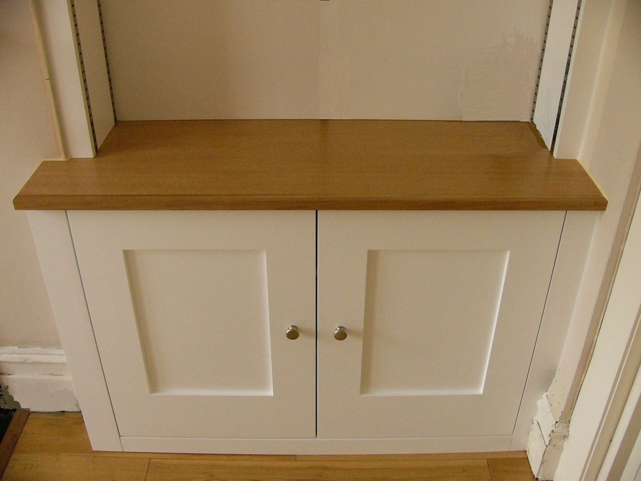 how to make build in cupboards