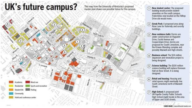 Kentucky Campus Map.University Of Kentucky Campus Map Google Search Wrd110 Week 6