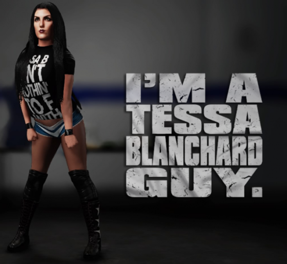 Wwe 2k18 Caws Rockstar101 S Tessa Blanchard Ps4 Tessa Blanchard Blanchard Wwe