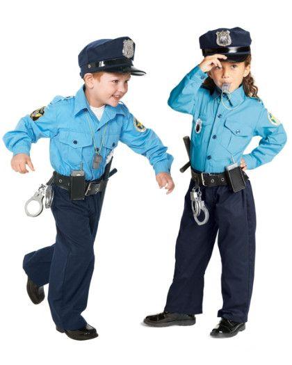 Jr Police Officer Costume For Kids Police Costume Kids Kids Costumes Childrens Costumes