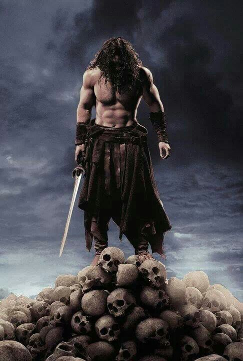 Conan from the 2012 movie. We know it could have been better, but the opening scene was epic.