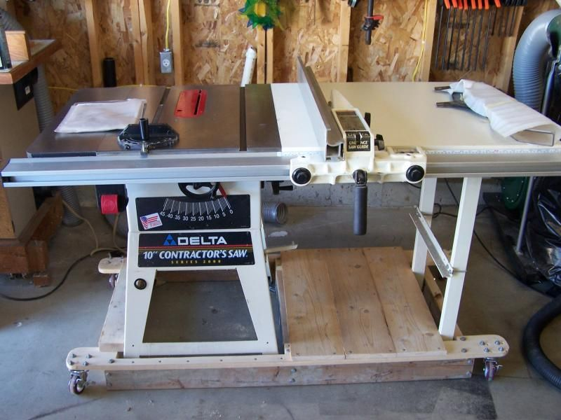 table saws bases | Delta Grand Edition white Series 2000 model ...