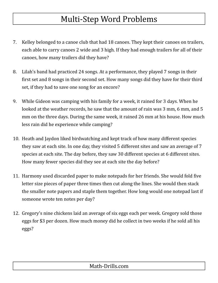 quantitative problems workbook for 3rd graders Google