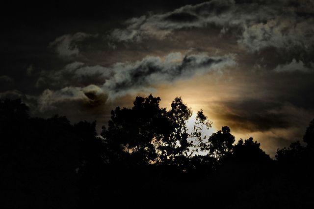 Tonight's moonrise, BillRhodesPhoto, via Flickr