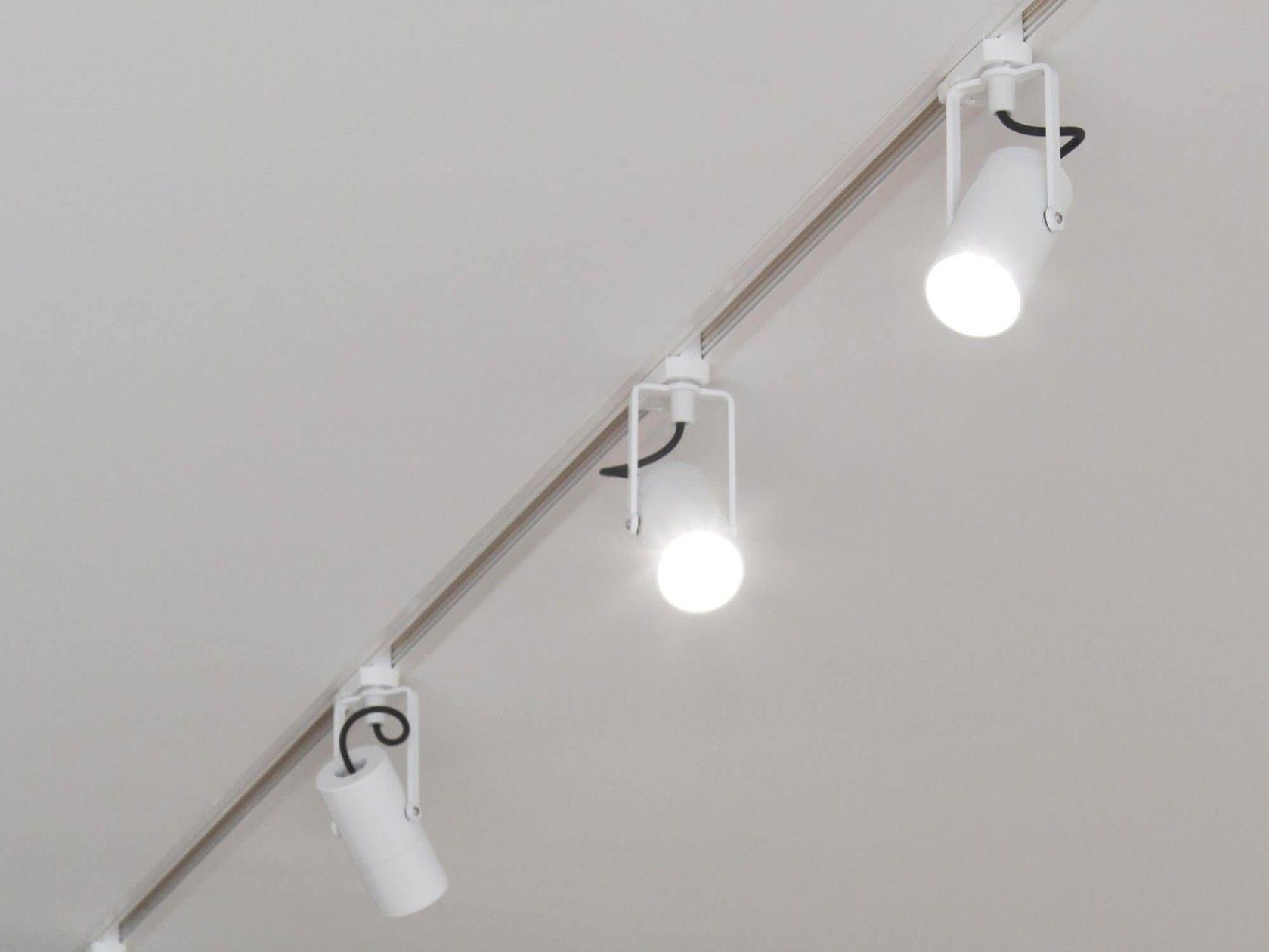 Illuminazione a binario a led a incasso zpro by brillamenti schermo