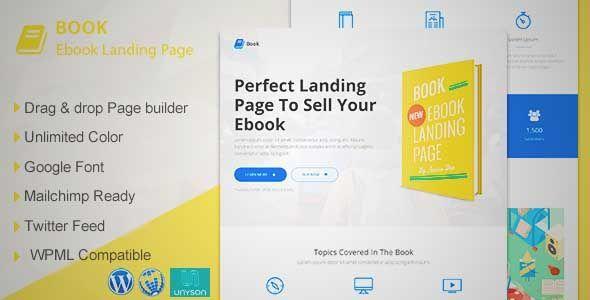 Theme ebook wordpress