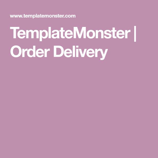 Order resume online delivery