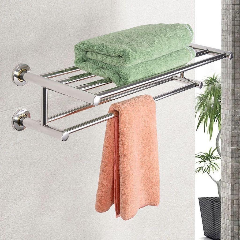 50 Inspirierende Ideen Fur Badetuchablagen Diy Und Deko Handtuchhalter Badezimmer Handtuchhalter Ideen Handtuchregal