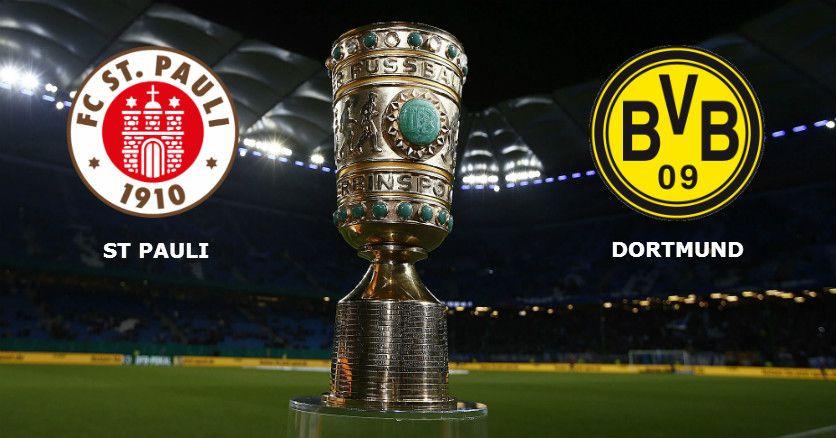 St. Pauli vs Borussia Dortmund: No jogo desta Terça-feira, a contar para os 16 avos da Deutscher Fußball-Bund-Pokal ou DFB-Pokal  http://academiadetips.com/equipa/st-pauli-vs-borussia-dortmund/