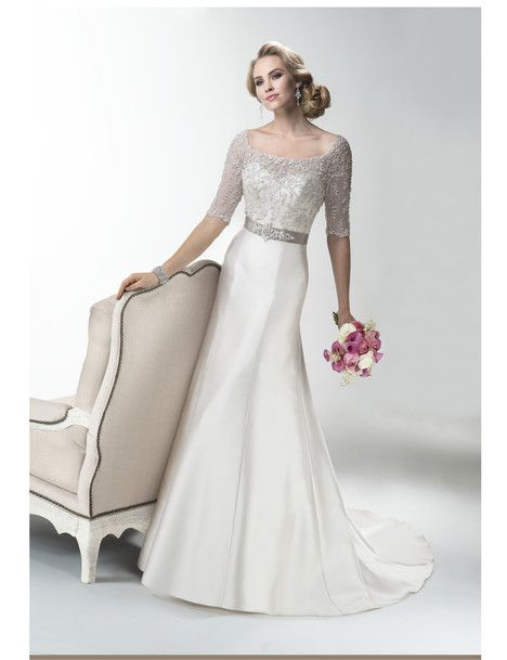 Yvette dress from the 2014 Maggie Sottero collection, as seen on the Bride.ca Gown Gallery / Store Locator.