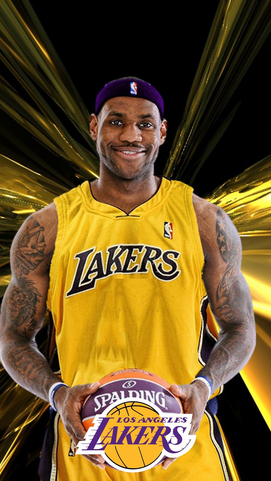 LeBron James Lakers iPhone X Wallpaper Lebron james