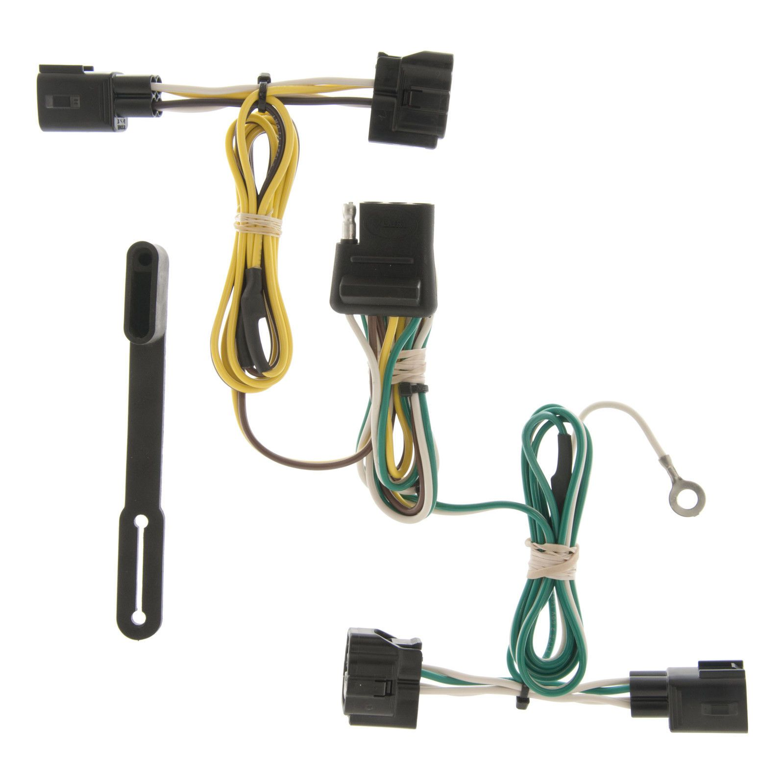 Curt Custom Vehicle-To-Trailer Wiring Harness 55363 For 1998-2006 Jeep  Wrangler