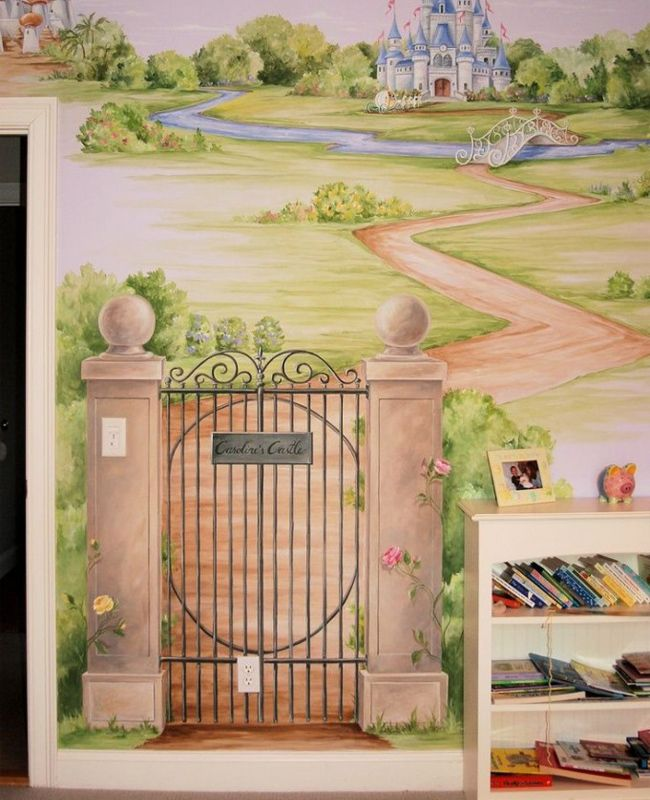 Mural of the Week October 2015 | Garden gate, Wall murals and Gate