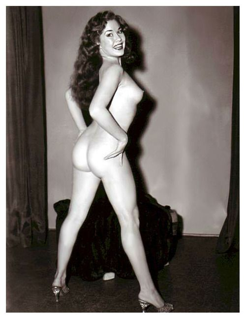Betty rowland aka the ball of fire vintage burlesque - 4 4