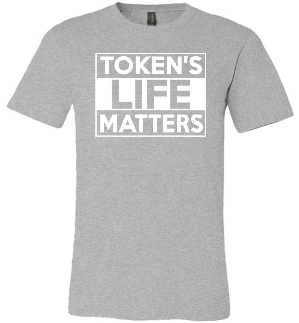 Token's Life Matters Canvas Unisex T-Shirt - Made in USA Shirt