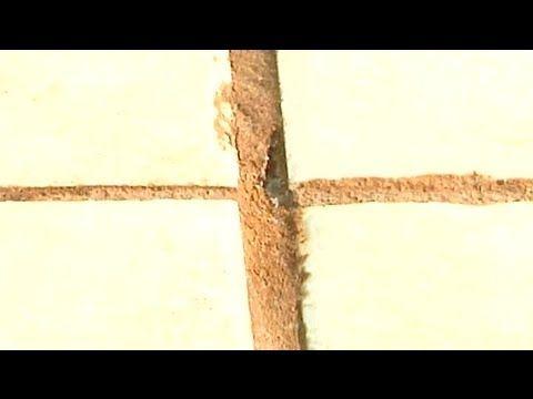 How Do I Repair a Crack in Tile Grout? : Ceramic Tile Repair - YouTube