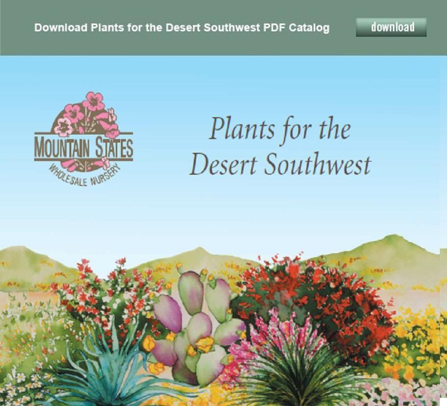 Plant Catalog Mountain States Whole Nursery