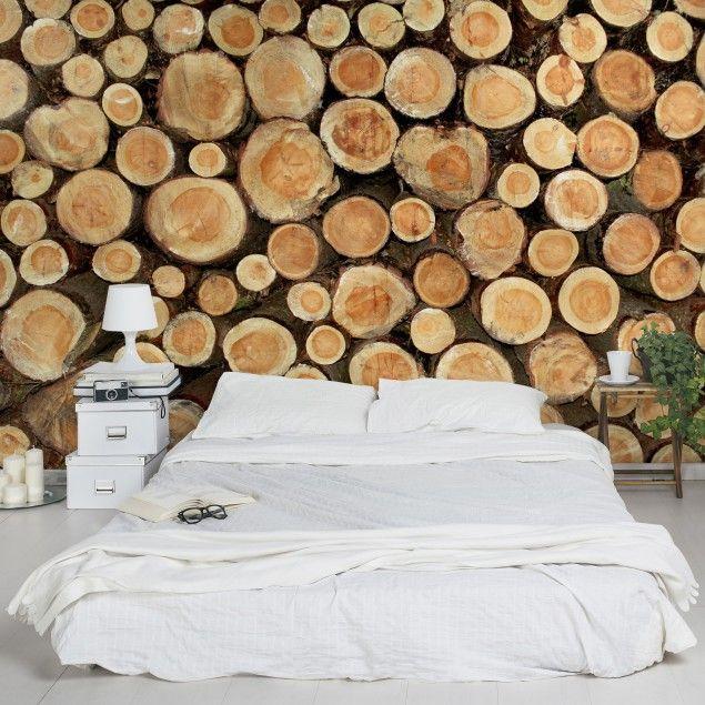 Vliestapete Premium - Altes #Archiv - Fototapete Quadrat #Holz ...
