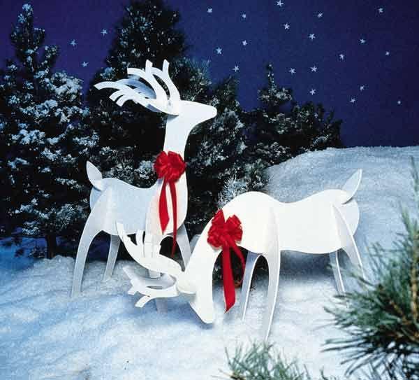 Ideas navideñas para decorar el jardín y la casa - Foro de - jardines navideos