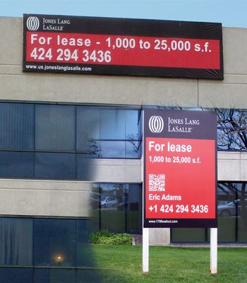 commercial for lease sign - Google Search signs Pinterest - commercial lease