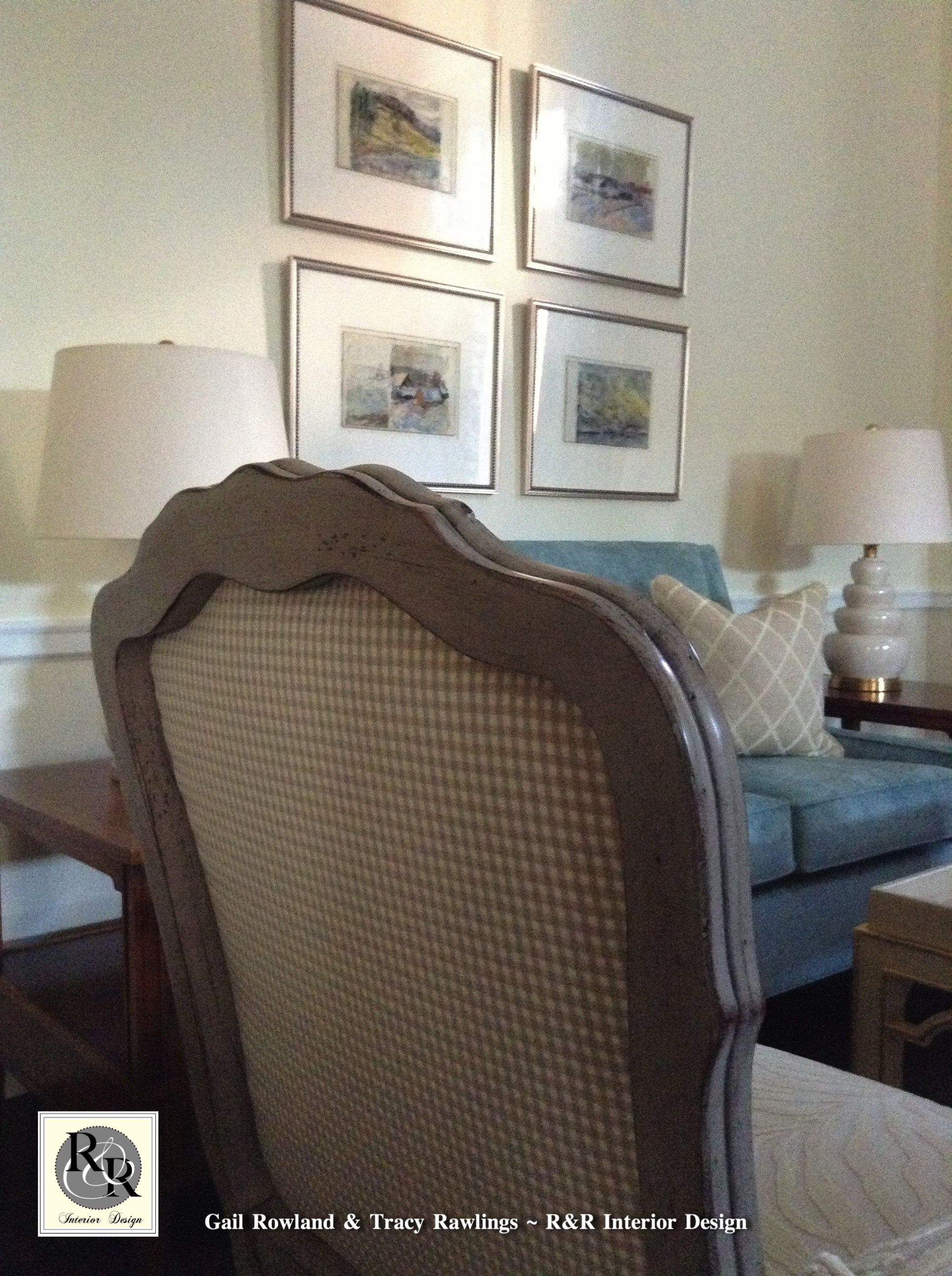 Living Room For The Beautiful New Chi Omega Sorority House At The