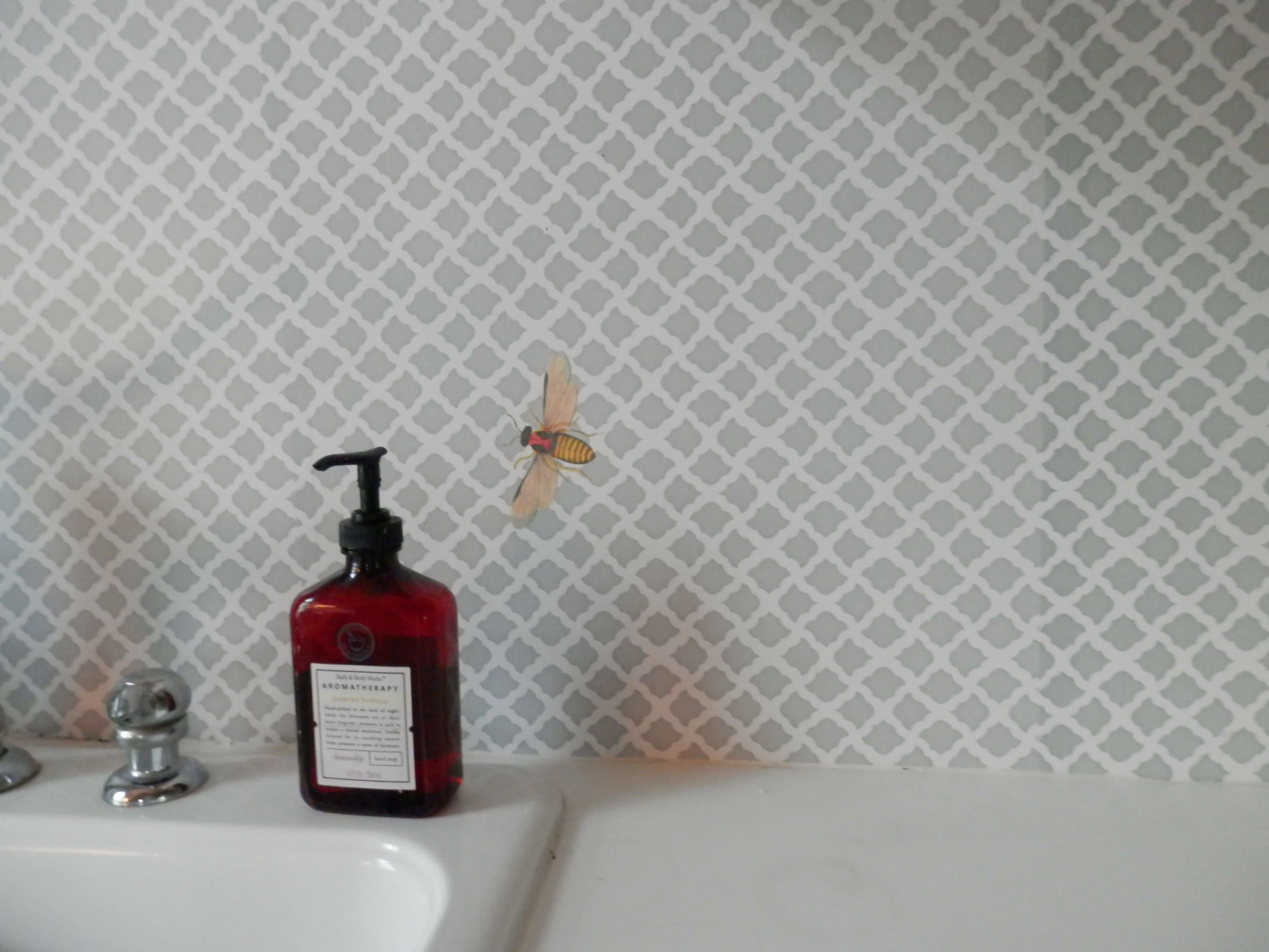 Contact paper for backsplash $8 :) | For the Home ...
