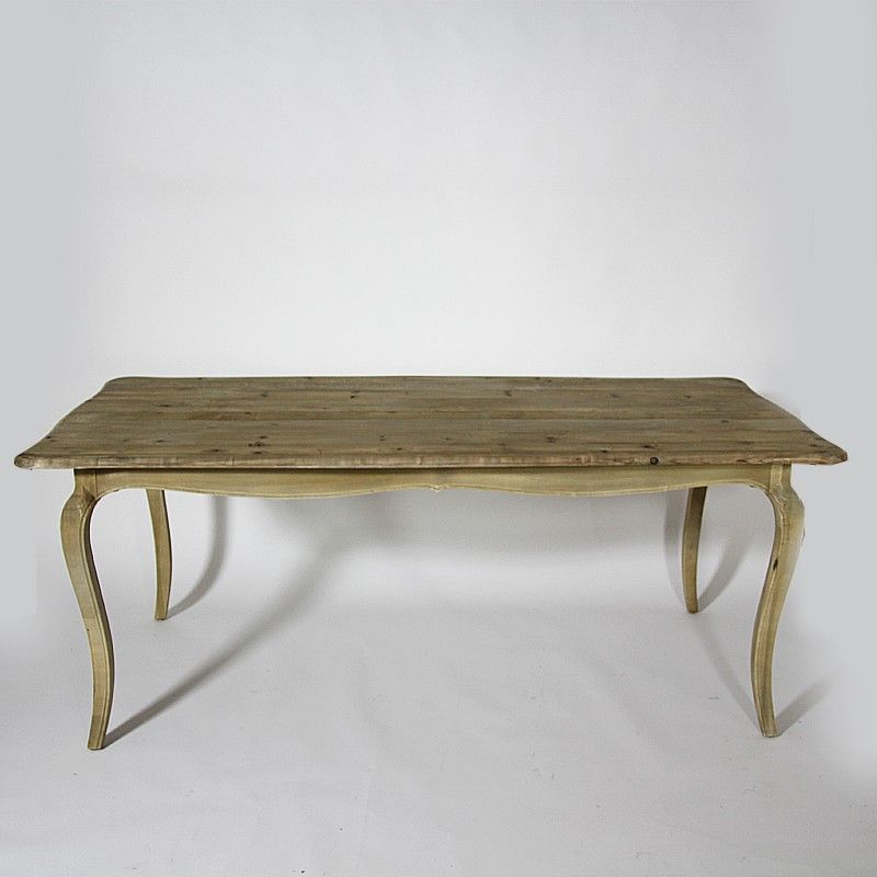 html meuble table 200cm x100cm en bois recycle finition naturel http www made