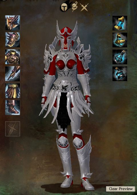 Guild Wars 2 Armor - Human - Female - Avenger's - Heavy | Myrddraal