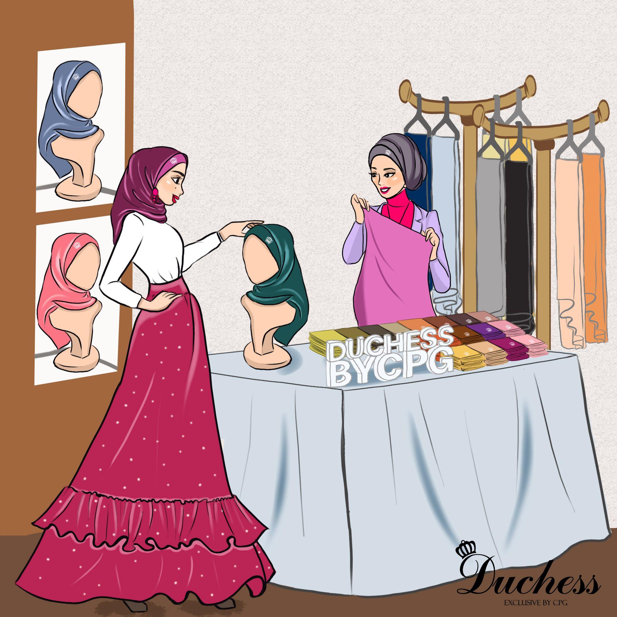 DUCHESS CPG Illustration By Namirahsketches