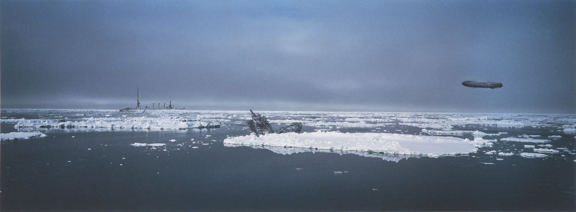 Ian North's Antarctic artworks evoke the beauty and terror of our era