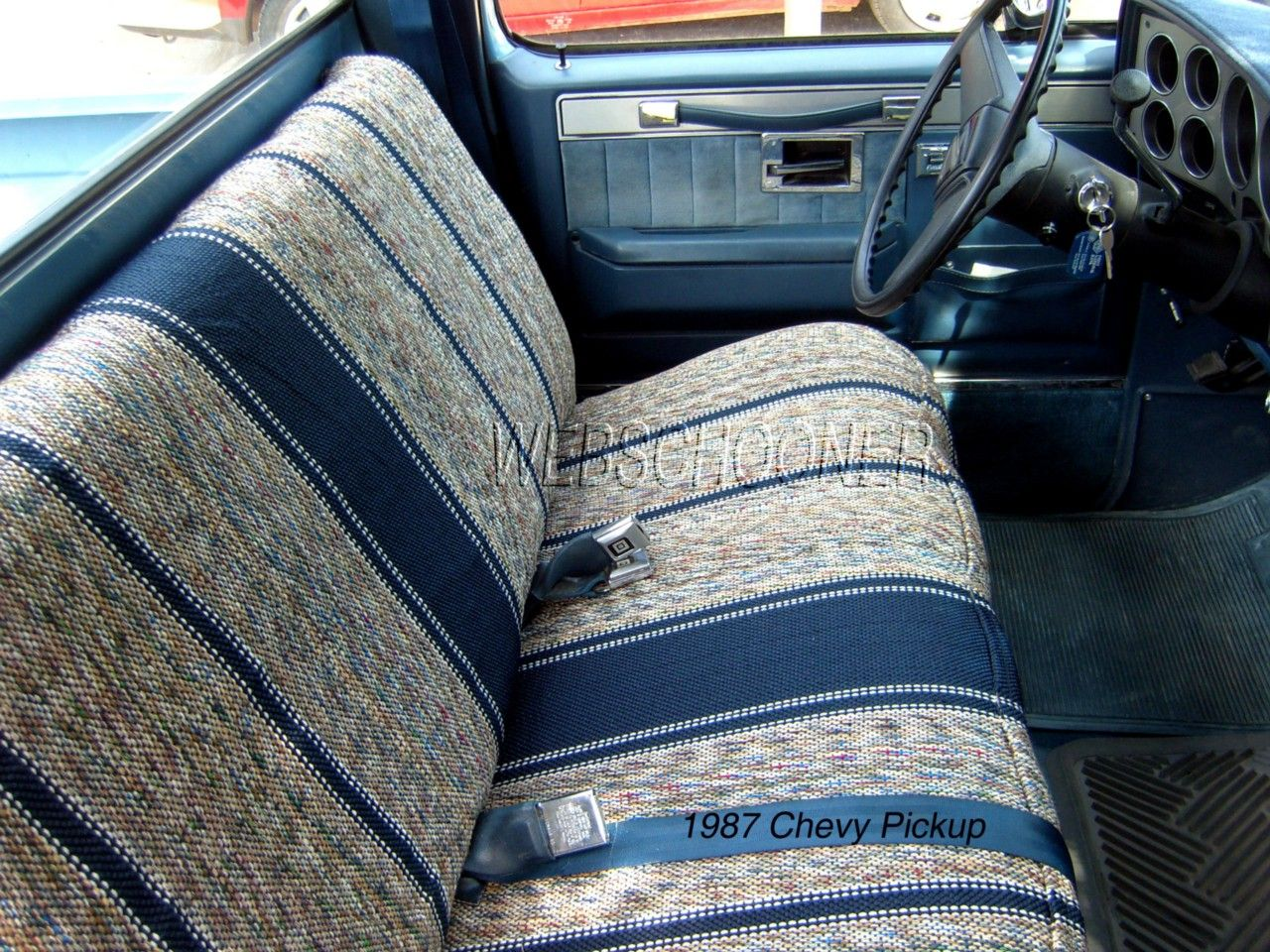 Details About Truck Bench Seat Cover Saddle Blanket Navy Blue 1pc Full Size Ford Chevy Dodge