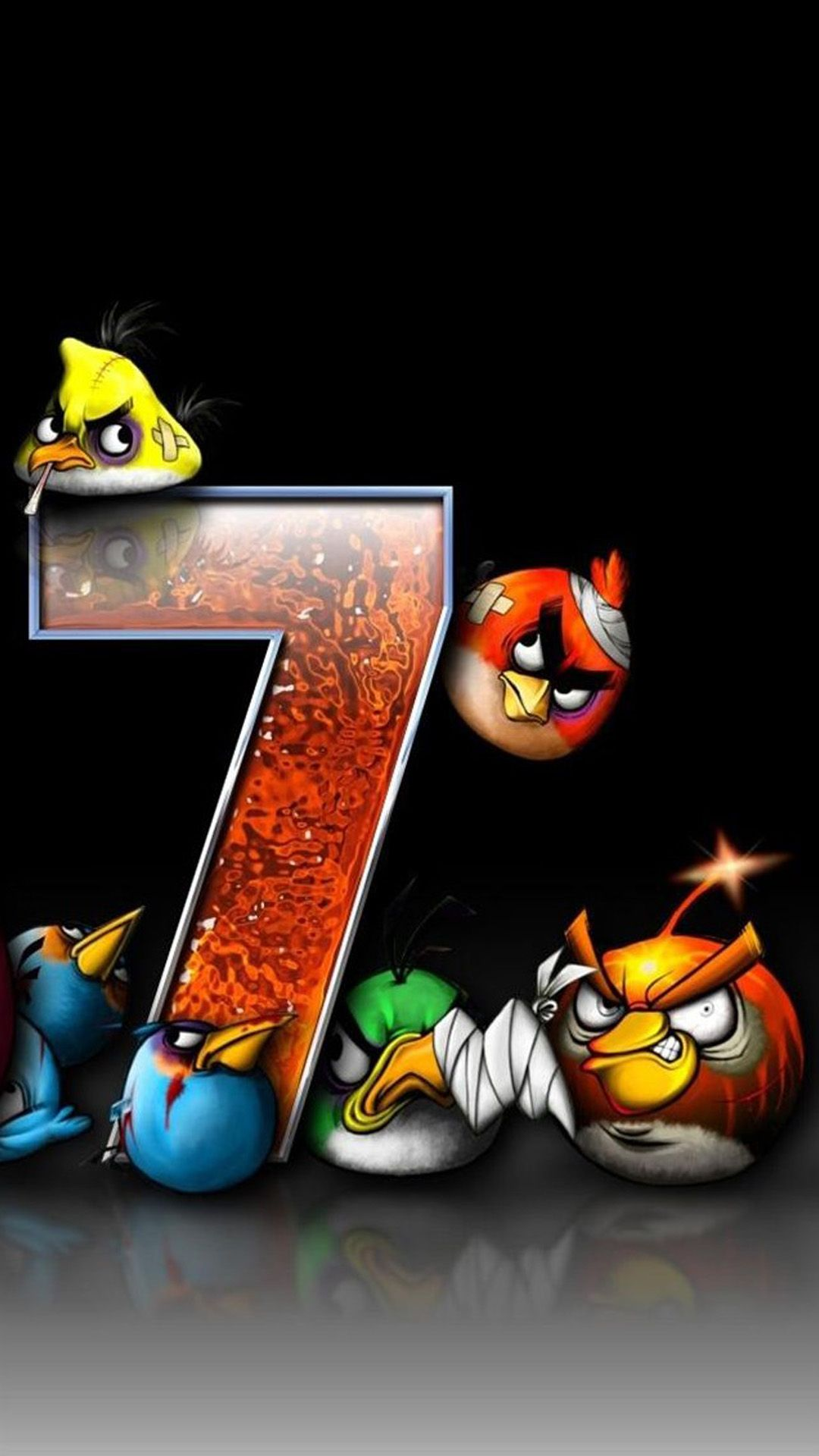 Angry Bird Game iPhone 6 plus wallpaper Ipad mini