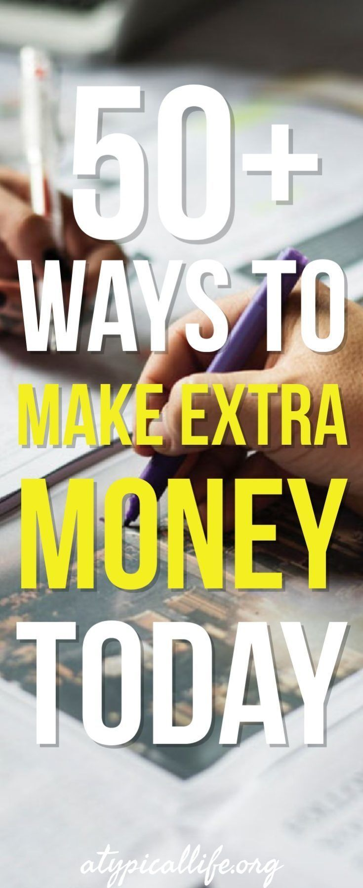 50 ways to make extra money today earning money money today and