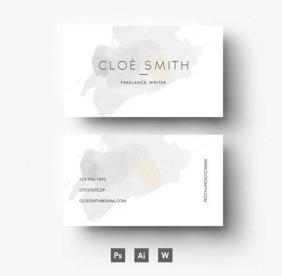 Cloé Smith Digital Template - Résumé - Business card - CV - Cover ...