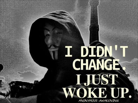 Anonymous Quotes New Render  V   Wake Up  Pinterest