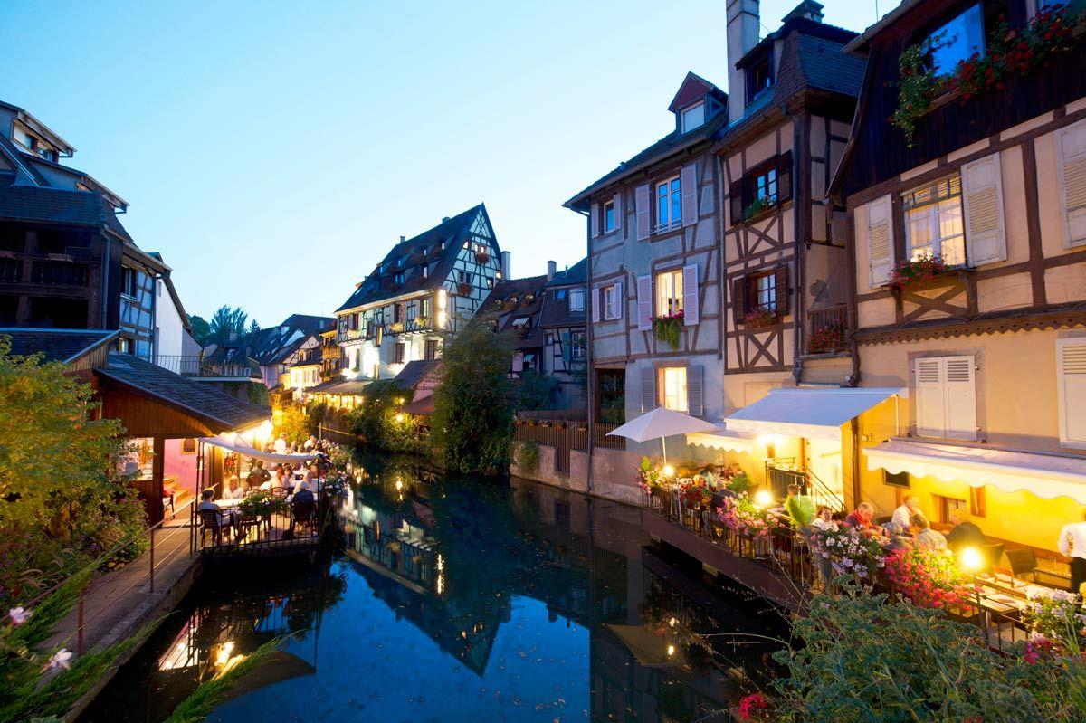 Hansel y Gretel en Colmar, Francia