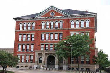 Allegheny High School - Wikipedia, the free encyclopedia  Northside, Pgh.