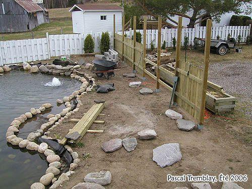conseils de construction d 39 un jardin d 39 eau construction bassin ext rieur tang de jardin. Black Bedroom Furniture Sets. Home Design Ideas