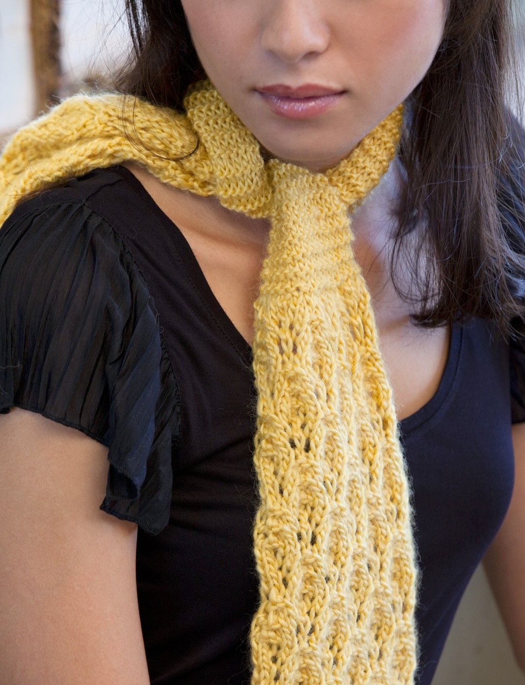 Lacy Daisy Ascot By Vickie Howe - Free Knitted Pattern ...