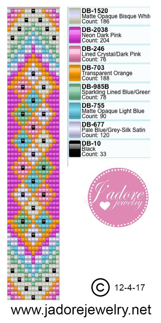 Pin by Betty Keim on Loom work | Pinterest | Bisuteria, Pulseras and ...