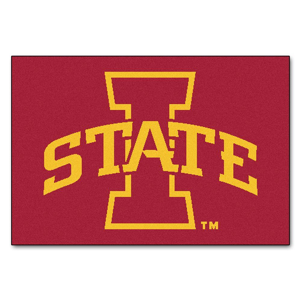 Fanmats Ncaa Iowa State University Red 19 In X 30 In Indoor