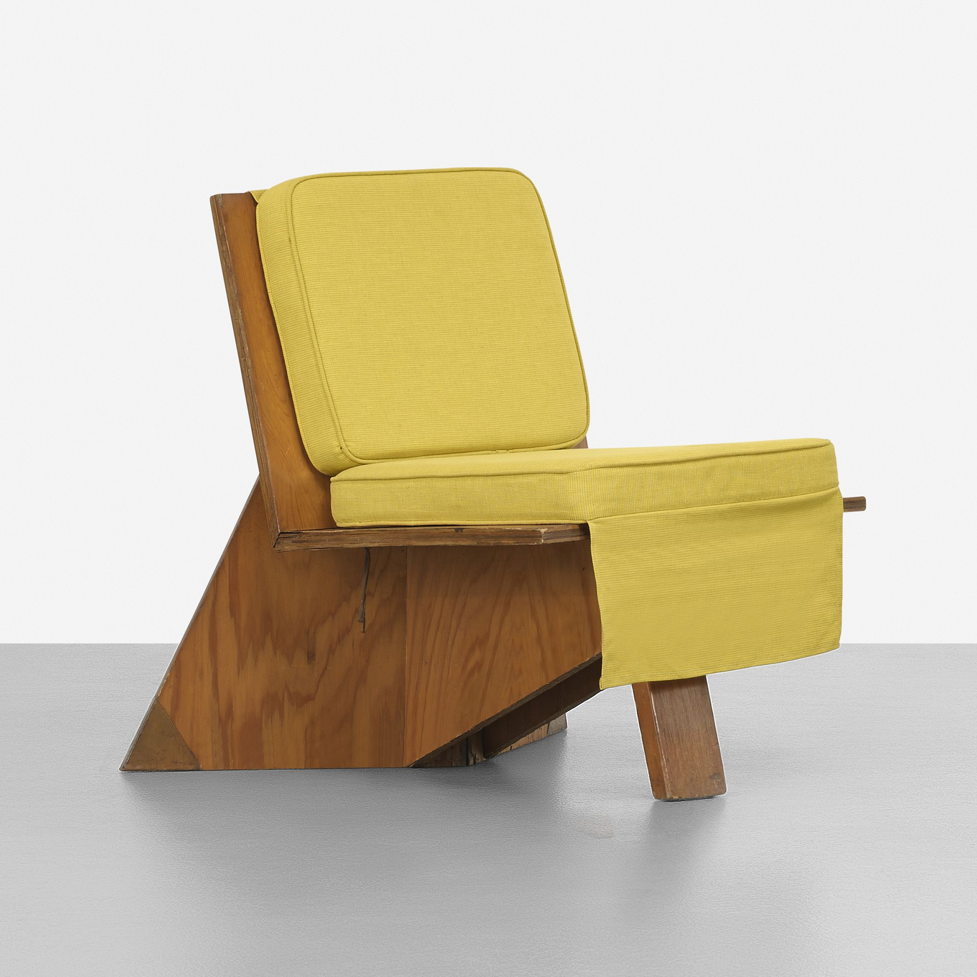 Miraculous Frank Lloyd Wright Designed Lounge Chair For The Stanley Andrewgaddart Wooden Chair Designs For Living Room Andrewgaddartcom