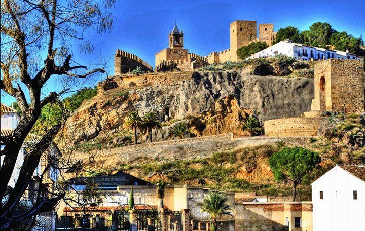 Bonita vista de La Alcazaba #Antequera por María L. P.