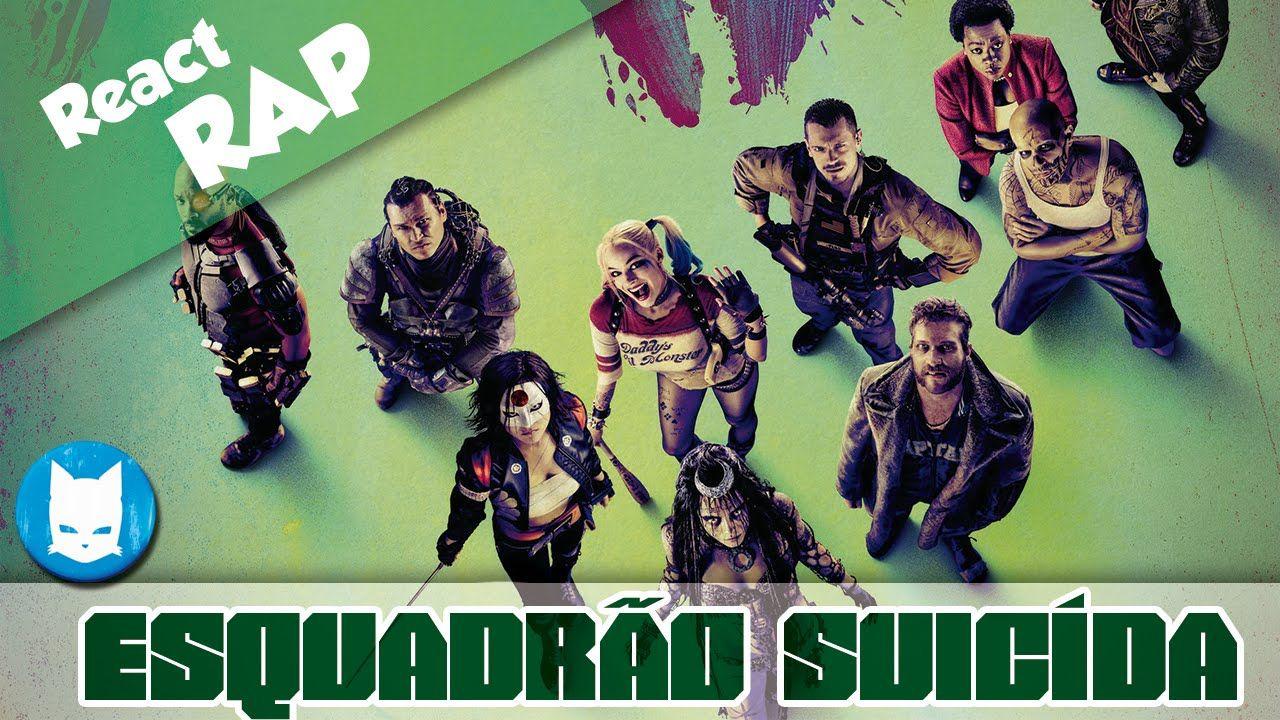 Esquadrão Suicida ReactRAP   AniBeat