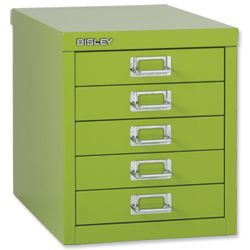 Inspirational Bisley Desktop Cabinet 5 Drawer