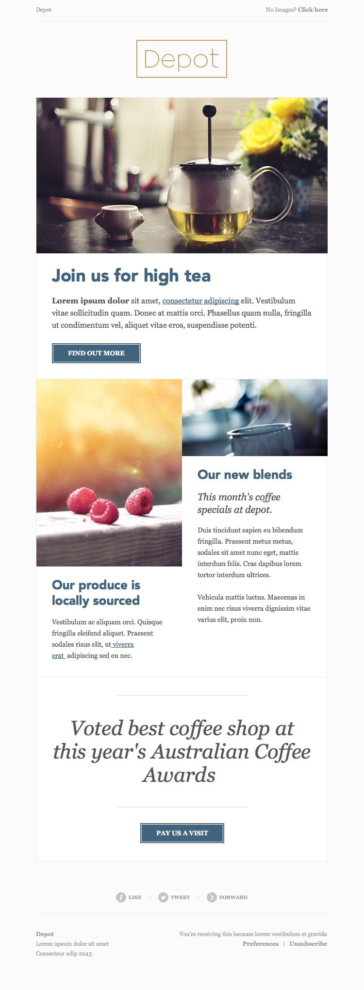 HTML email templates for free Campaign Monitor Email