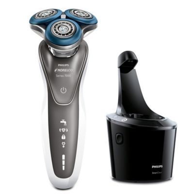 Philips Norelco Shaver 7500 White Best Electric Shaver Mens