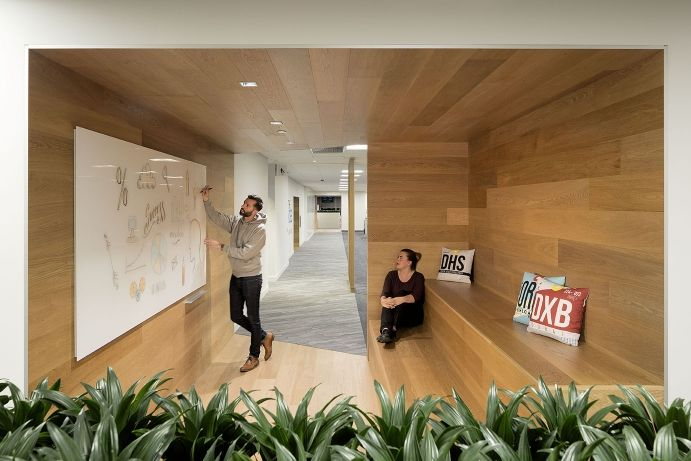 Interior design of the Vancouver offices of ACL by awardwinning
